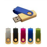Тина хранить MapleMetal Memory Stick Pendrive 16GB 32GB 64GB 8GB USB 2.0 флэш-Pen Drive Фото Выборочная логотип (над 30pcs Free Logo)