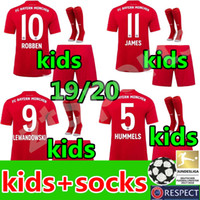 new youth Bayern Munich kids kit soccer jerseys 19 20 kids f...