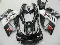 ZXMOTOR 스즈키 GSXR600 용 페어링 키트 GSXR750 SRAD 1996-2000 블랙 화이트 GSXR 600 750 96 97 98 99 00 페어링 TT67
