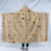 Kapuzendecke Mexiko Tortilla Polenta-Kuchen Design Teppich Umhang Pad Winter-Warmhalte 150X130 Komfort Die neue 45jm C1