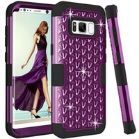 360 Degree Shockproof diamond phone case For Samsung Galaxy ...