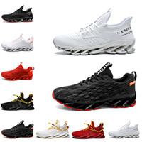 Scarpe da corsa non-marca per gli uomini Triple Black Bianco Mens Trainer all'aperto a piedi traspiranti Sneakers sportivi 39-44 Stile 12 Spedizione gratuita