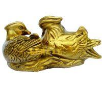 L'eau de cuivre Yuanyang aide mariage feng shui ornements artisanat