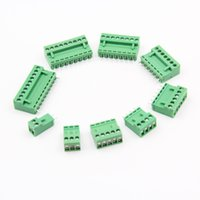 100PCS/lot YT495b Terminal Block HT3.96 Pluggable terminal Connector 15A 2/3/4/5/6/7/8/9/10P Staight Needle green/yellow