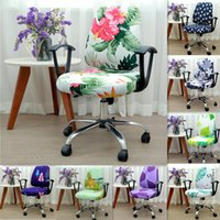 21 Colors Modern Spandex Computer Chair Cover 100% Polyester...