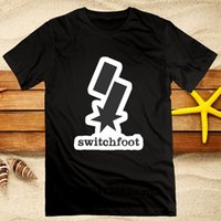 Switchfoot Logo Hommes T-shirt D'été Nouvelle Mode Coton Coton Fitness Confortable Tees Loose Fit Noir Tops S-3XL