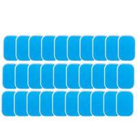 60PCS EMS Gel Pad, Pad Remplacement de l'électrode Gel, EMS Absorbent Muscle abdominal formateur Accessoires