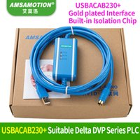 2019 USBACAB230 Delta PLC Programming Cable USB TO RS232 Adapter For