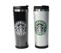 Starbucks tazze 14 oz 420ml in acciaio inox tazza Coppe flessibili caffè Bicchieri Boccale Tè Viaggiare tazze da tè coppe di vino DHL