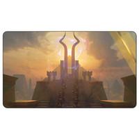 Magic Board Game Playmat: طقوس مظلمة (Invocations) MtG Art بحجم 60 * 35 سم ، طاولة حصيرة