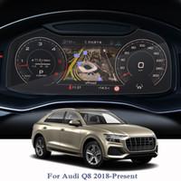 Audi A8 Için araba Styling GPS Navigasyon Ekran Filmi 2018-Present Dashboard Cam Ekran Filmi İklim Kontrolü İç Aksesuar