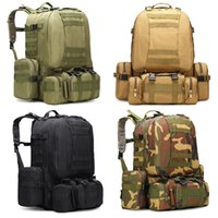 55L Military Tactical Backpack Rucksack Large Capacity Outdo...