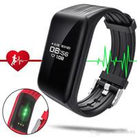 Neueste Fitness Tracker K1 Smart-Armband Echtzeit-Herzfrequenzmesser wasserdicht IP68 Smart-Band Aktivität Sport-Action-Tracker