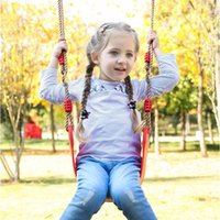 실내 및 야외 피트니스 아이들의 스윙 키즈 컬러 EVA 소프트 보드 U 자형 스윙 야외 정원 스윙 T9I00435