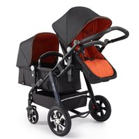Fashion Double Stroller for 0~36 Months Kids, Children Troll...