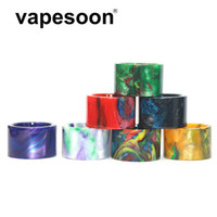 VapeSoon001 TFV16 Kral Alt Için Reçine Damla İpucu Alt Ohm 9 ML TANKı Yedek Damla İpucu Akrilik Paketi