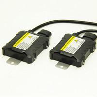 2pcs 55w ксенона спрятанный балласт для 12v автомобиля Ксенон блок цифровой балласт для 9005 9006 H1 H3 H7 H4 9004 9007 Lamp