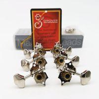 1 Set Grover Vintage Guitar Machine Teste Sintonizzatori Oro e cromato Tuning Pygs