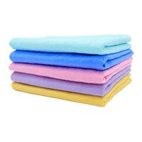 PVA imitation deerskin embossed absorbent towel cleaning clo...
