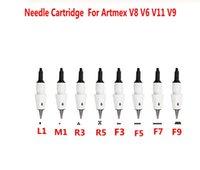 خرطوشة الإبرة الصغيرة ل Artmex V8 V6 V11 V9 آلة ماكياج دائم الوشم إبرة ديرما القلم MTS PMU العناية بالبشرة