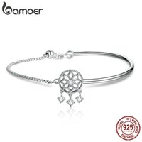925 Sterling Silver Dream Catcher Round Circle Adjustable Ch...