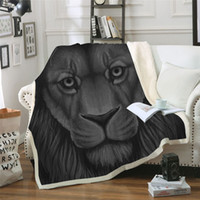 BeddingOutlet Scar Lion Leo Printed Velvet Plush Throw Blank...