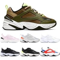 Diseñador Cheap Dad Shoes Hombres M2k Tekno John Elliott Paris Phantom Pink Black Volt White Trainer Mujeres Running Sports Sneakers 36-45