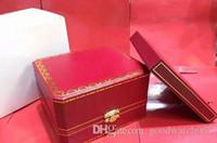 Высокое качество Luxury Brand Red Оригинальные мужские часы Box Подарочные женские часы Коробки карты Сертификат Книги 7750 3135 Limited Edition 2020