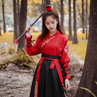 Dinastía Tang Trajes antiguos Vestido de Hanfu Ropa de baile popular chino Ropa de espadachín clásica Hada tradicional Cosplay