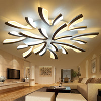 أضواء السقف النائية الصمام مصباح السقف مصباح الحديثة ضوء المنزل ضوء الاكريليك الألومنيوم ضوء تركيبات ل 8-35square متر