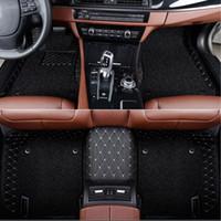 자동차 FOOR 매트 사용자 정의에 대한 인피니티 ESQ Q50 QX30 Q60 QX50 QX60 QX56 QX80 Q70L QX70 G25 JX35 EX25 FX EX JX G M 시리즈 자동차 스타일링