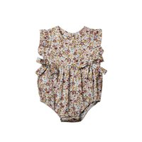 Must- have New Fashions Designer Baby Girls Romper Clothes Fl...