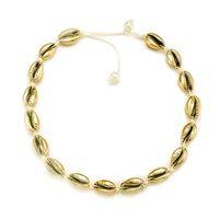 Collar de gargantilla de concha de mar ajustable para las mujeres collar de concha de mar collar llamativo collar babero collar joyería hawaiana
