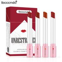 ibcccndc غير المقيد 4 ألوان شعبية السجائر الملونة أحمر الشفاه الشفاه ماكياج الشفاه لمعان 8CM maquillage maquiagem تشكل