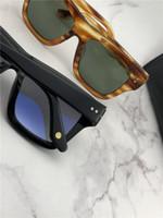 도매 제작자 파일럿 선글라스 블랙 / 그레이 클래식 Sonnenbrille occhiali da sole 럭셔리 디자이너 선글라스 태양 안경 새로운 wib 상자