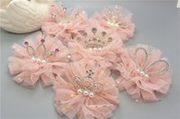 Shiny Crown Hairpin Lace Glitter Star Baby-Mädchen-Prinzessin Kopfbedeckung Haarspange Kind-Kind-Schönheit Kopfschmuck Geschenk Großhandel neuer 2020 heißen Verkauf