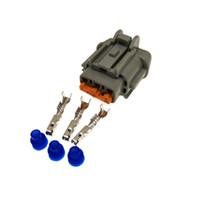 6185-0869 3 Pin 2.3mm weibliche Auto-Licht Stecker, Elektrisches Lampenstecker für Auto Sumitomo Nissan usw.