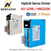 Original driver Leadshine Hybird Servo Stepper H2-2206 HBS2206 AC 2phase 0-220VAC 6A por 86 110 milímetros Motor NEWCARVE