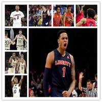 Özel 2021 Koleji Liberty Alevler Basketbol Jersey Caleb Homesley Scottie James Georgie Pacheco-Ortiz Darius McGhee Lovell Cabbil Jr. 4XL
