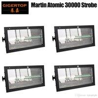 4 대 마틴 원자 3000 LED 디스코 스트로브 조명 LED RGB 색상 스트로보 DMX 무대 조명 효과 사운드 활성화 스트로보 스코프 프로젝터