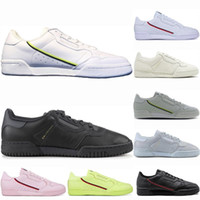 Homens mulheres Continental 80 calçados casuais Calabasas PowerPhase Kanye West Aero Núcleo OG instrutor S Superstars stan smith Sports Sneakers 36-45