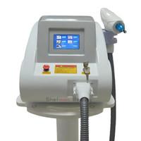 Portable 1064nm 532nm rimozione del tatuaggio del laser Nd Yag Q-switched Apparecchiatura di trattamento dell'acne pigmento dei capelli Removal For Sale