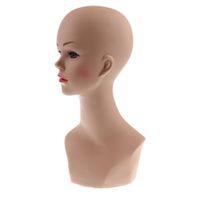 Écharpe Wigs chapeau de chapeau de chapeau de chapeau modèle mannequin mannequin mannequin