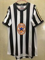 Retro classic 1997 1998 Magpies United FC camisa de futebol ASPRILLA BARNES SHEARER BATTY UNITED futebol Camisa esportiva S-2XL