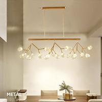 Lampadario moderno LED LUSTER LUCCANDA Lampadari per il soffitto Hanglamp Sospensione Luminaria per camera da letto Soggiorno Soggiorno Lampada a sospensione Lampadario Lampadario
