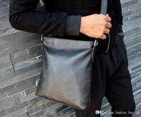 New Fashion Luxury Designer Man Handbag Cross body Bags Shoulder Genuine Leather High Quality Tote Purse bags genuine leather 26cm