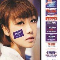 دونالد ترامب 2020 حافظ على أمريكا العظمى الوجه الملابس ملصقات الجسم دونالد ترامب 2020 وجه حزب الرئيس ملصقات الانتخابات الحسنات KKA7752