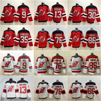 2020 New Jersey Devils Ice Hockey 86 Jack Hughes 76 PK Subban 35 Cory Schneider 13 Nico Isshier 30 Martin Brodeur 9 Taylor Hall Jerseys