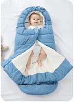 Sac de couchage pour bébé hiver chaud Enveloppe pour bébé poussette SleepSack Nouveau-nés doux enfant en bas âge Sac de couchage pour bébé Enfants en fauteuil roulant