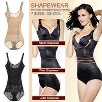 Sexy Lady Full Body Trainer Cintura Shaper Respirável Espartilho Shapewear Bodysuit das Mulheres Tummy Controle de Emagrecimento Cueca Novo